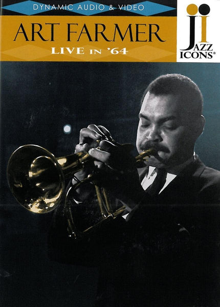 JAZZ ICONS: ART FARMER LIVE IN '64 (DVD)