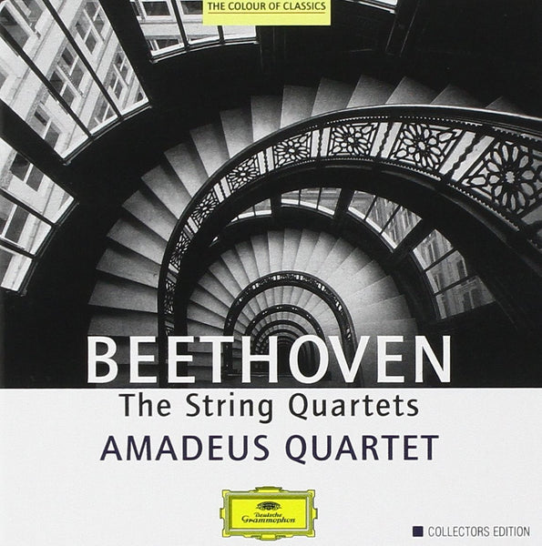 BEETHOVEN: THE STRING QUARTETS - AMADEUS QUARTET (7 CDS)
