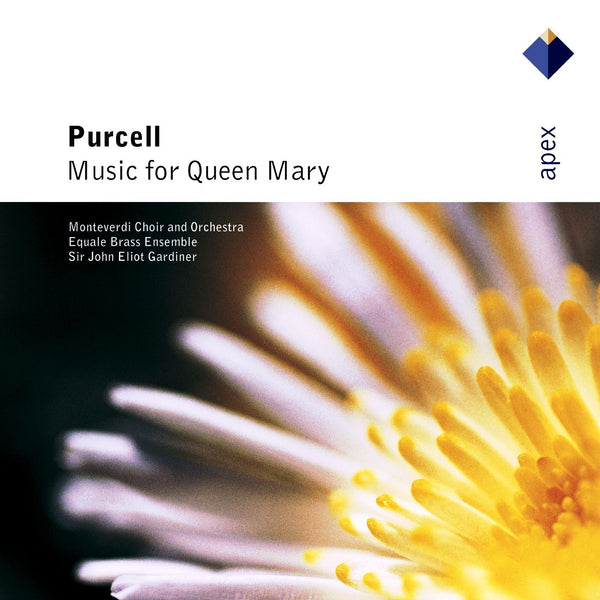 PURCELL: MUSIC FOR QUEEN MARY - LOTT; BRETT; WILLIAMS; ALLEN; GARDINER; MONTEVERDI CHOIR; EQUALE BRASS ENSEMBLE; MONTEVERDI ORCHESTRA