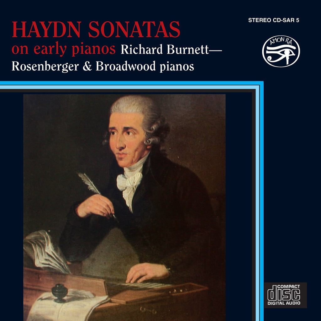 Haydn: Sonatas on early pianos - Richard Burnett