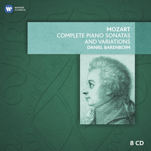 Mozart: Complete Piano Sonatas and Variations - Daniel Barenboim (8 CDs)
