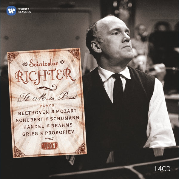 Sviatoslav Richter: The Master Pianist - The Complete EMI Recordings (14 CDS)