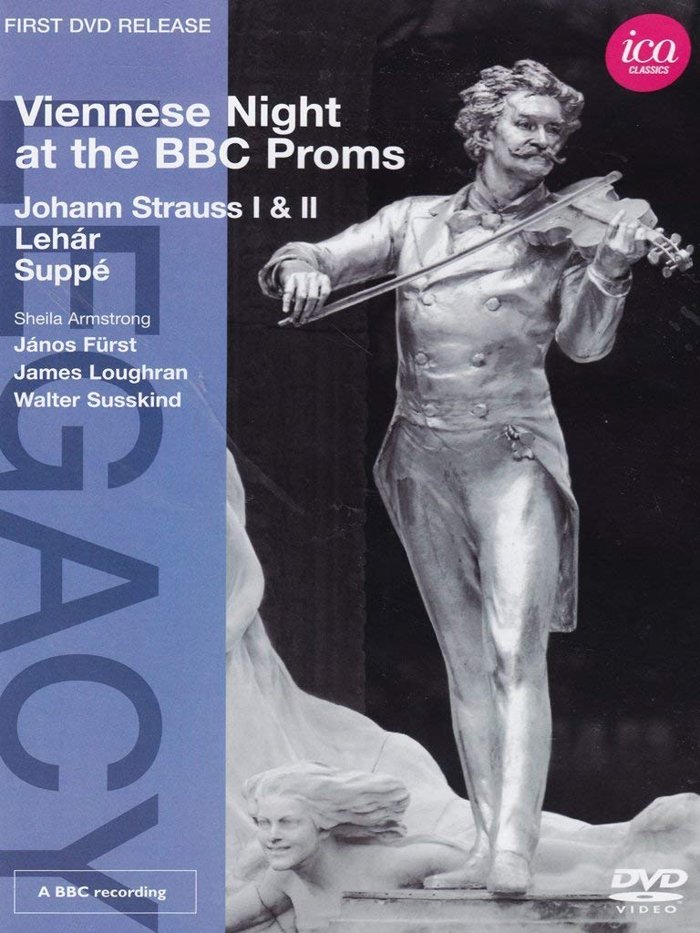 VIENNESE NIGHT AT THE PROMS (DVD) - ARMSTRONG; LOTT; LOUGHRAN; SUSSKIND; WELSER-MOST
