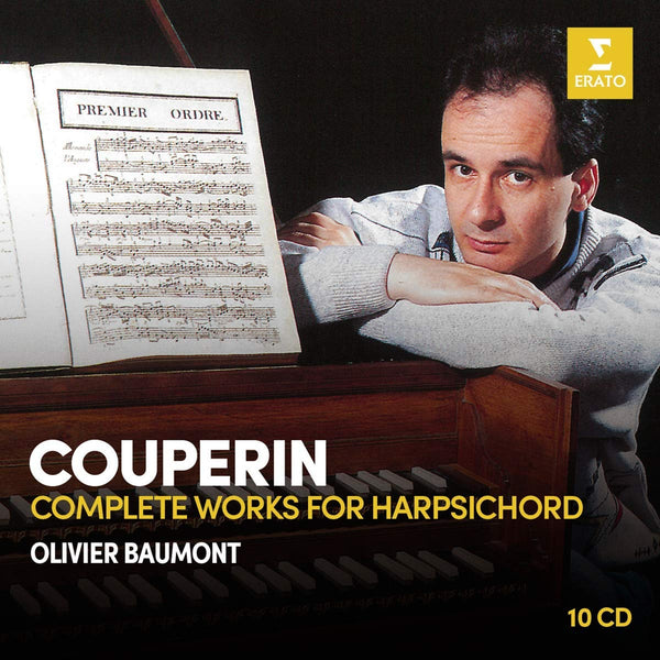 COUPERIN: COMPLETE HARPSICHORD WORKS - OLIVIER BAUMONT (10 CDS)