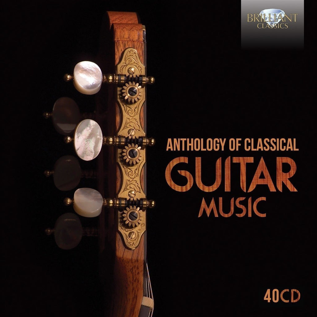 Anthology of Classical Guitar Music (40 CDS)