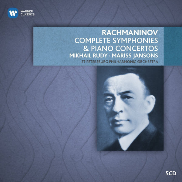 Rachmaninov: Piano Concertos & Orchestral Works - Janssons, St. Petersburg Philharmonic (5 CDs)