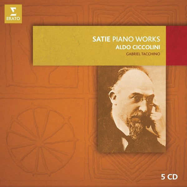 Satie: The Complete Piano Music - Aldo Ciccolini (5 CDs)