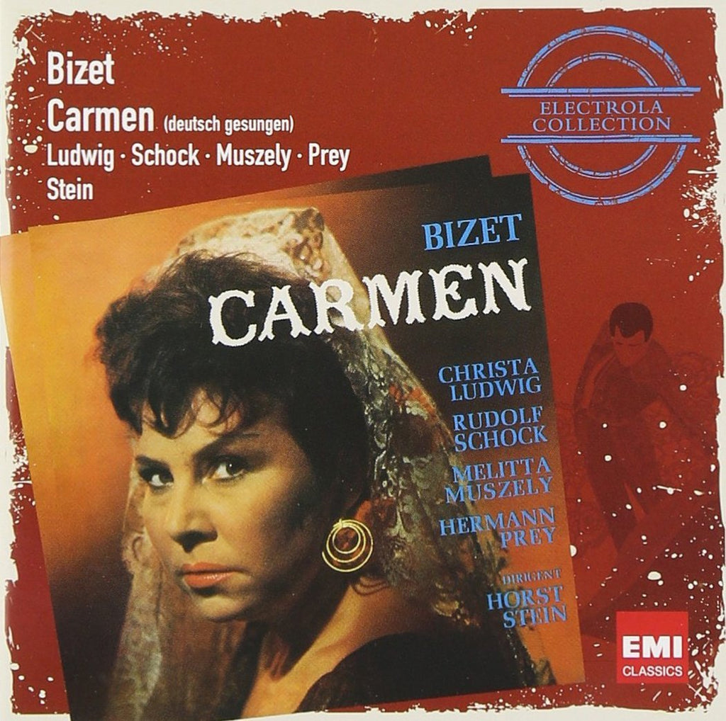 BIZET: CARMEN (IN GERMAN) - LUDWIG, SCHOCK, PREY (2 CDS)