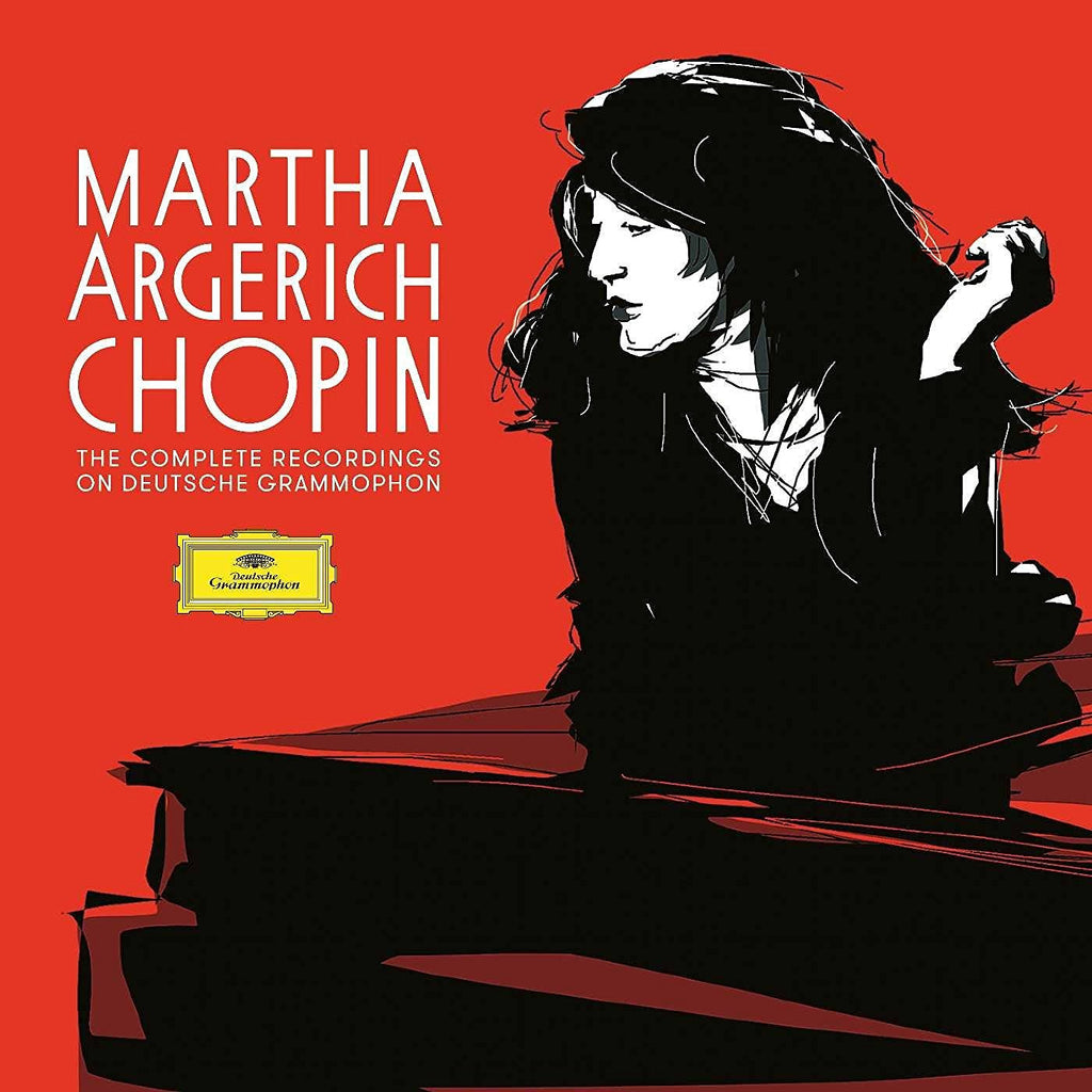 MARTHA ARGERICH: THE COMPLETE CHOPIN RECORDINGS (5 CDs)