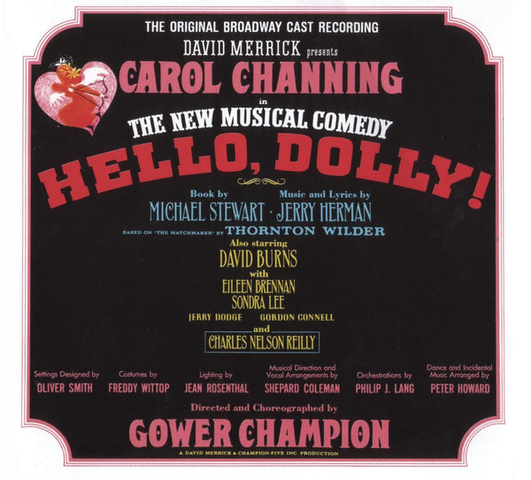 HELLO, DOLLY! - ORIGINAL CAST