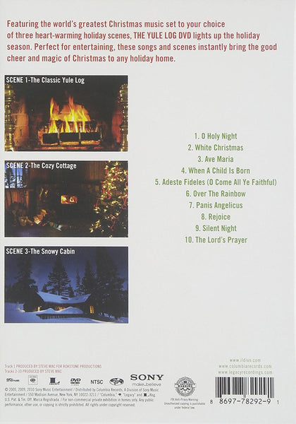 IL DIVO - THE CHRISTMAS COLLECTION (THE YULE LOG DVD)