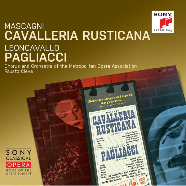 Mascagni: Cavalleria Rusticana & Leoncavallo: Pagliacci - Fausto Cleva; Richard Tucker; Orchestra of The Metropolitan Opera Association (2 CDs)