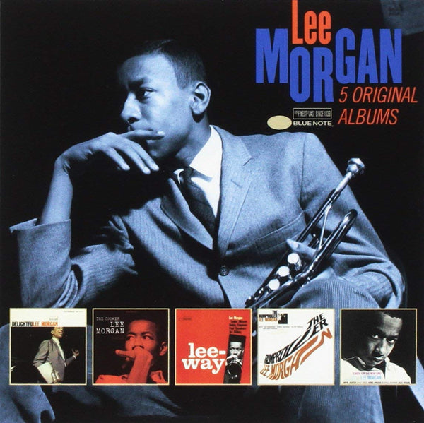 LEE MORGAN: 5 ORIGINAL ALBUMS