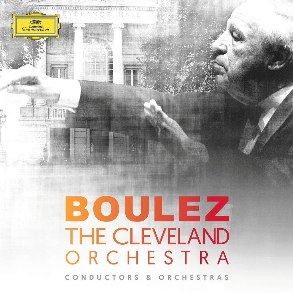 Cleveland Orchestra: Conductors and Orchestras - Pierre Boulez (8 CDs)