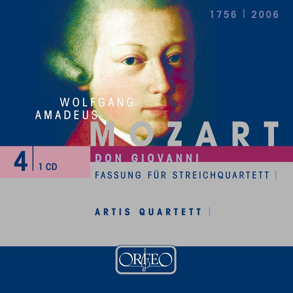 MOZART: DON GIOVANNI - VERSION FOR STRING QUARTET - ARTIS QUARTETT