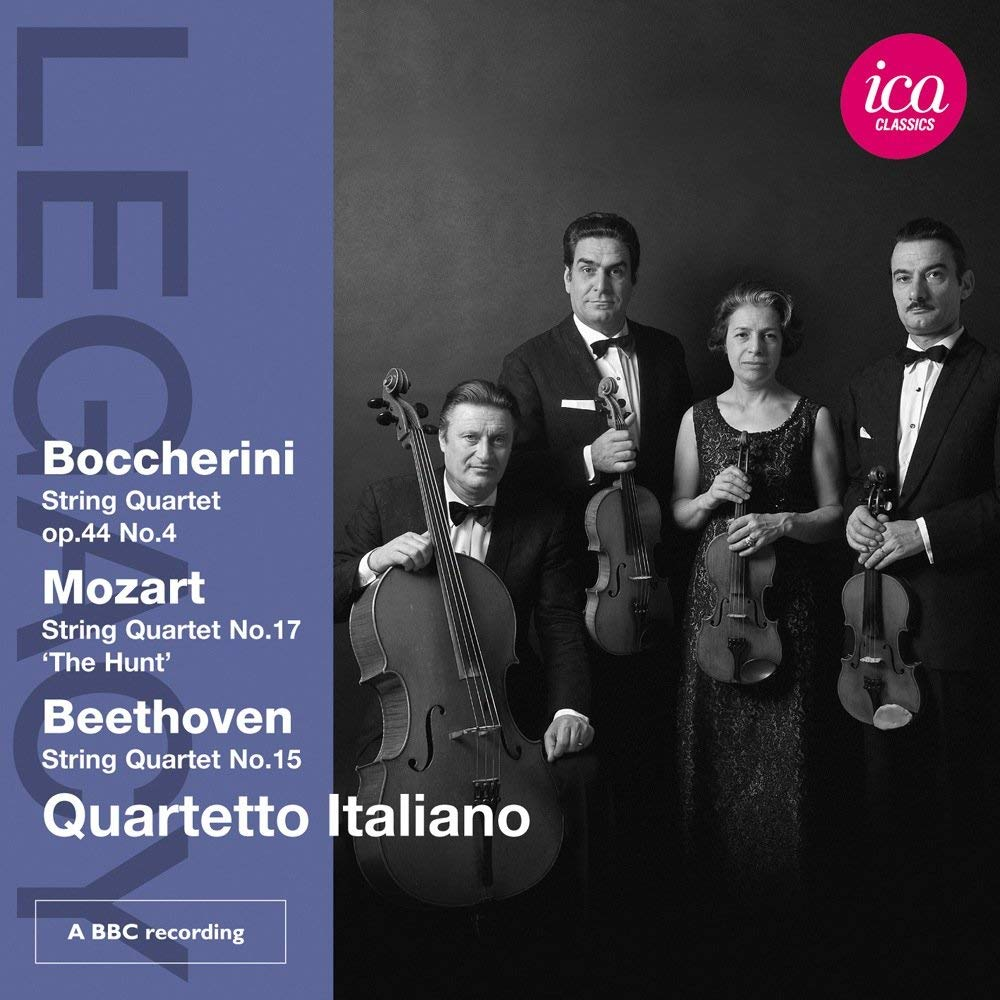 QUARTETTO ITALIANO PLAYS BOCCHERINI; MOZART & BEETHOVEN