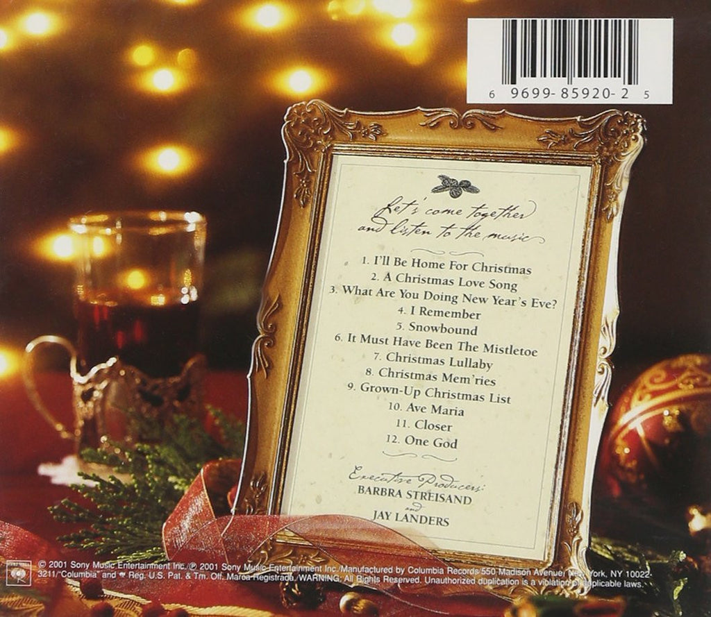 CHRISTMAS MEMORIES - BARBRA STREISAND – Classic Select