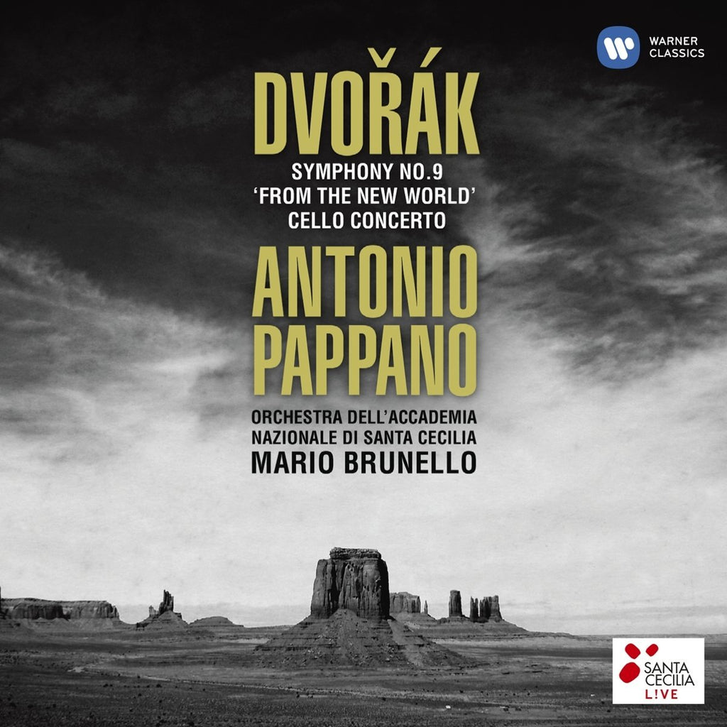DVORAK: SYMPHONY NO.9 & CELLO CONCERTO - PAPPANO, ANTONIO (2 CDs)