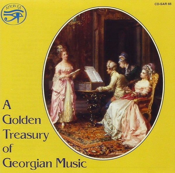 A Golden Treasury of Georgian Music - Various Artists