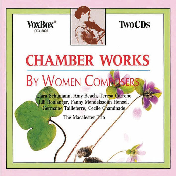 Chamber Works by Women Composers - Macalster Trio (2 CDs)