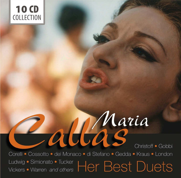 Maria Callas: Her Best Duets (10 CDs)