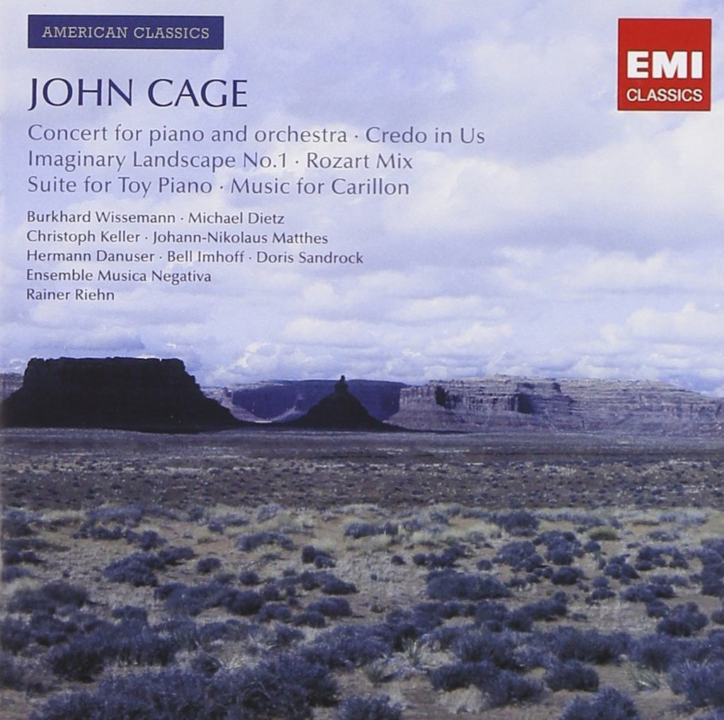 CAGE: CONCERT FOR PIANO AND ORCHESTRA AND OTHER WORKS