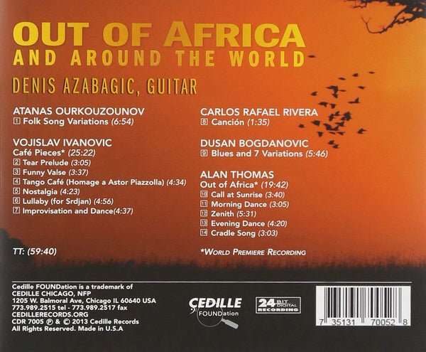OUT OF AFRICA & AROUND THE WORLD - DENIS AZABAGIC
