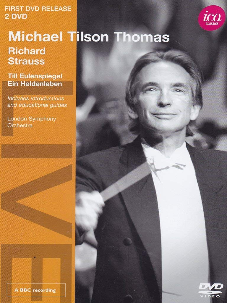 MICHAEL TILSON-THOMAS CONDUCTS RICHARD STRAUSS (2 DVDS) - LONDON SYMPHONY ORCHESTRA