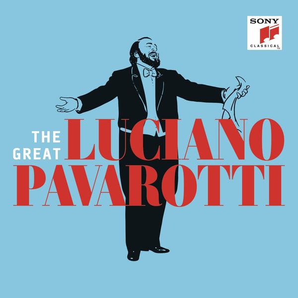 THE GREAT LUCIANO PAVAROTTI (3 CDs)