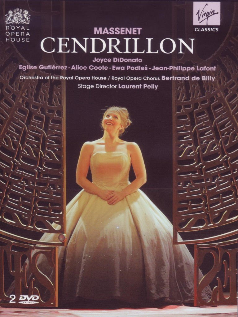 Massenet: Cendrillon - Bertrand de Billy/Joyce DiDonato/Royal Opera House Orchestra/Laurent Pelly: (2 DVD)