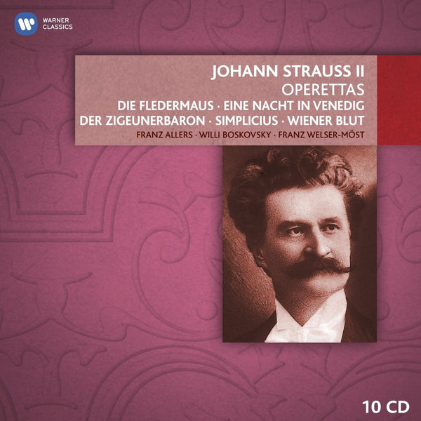 Johann Strauss, Jr.: Operettas (10 CDs)