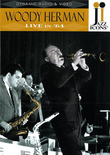 JAZZ ICONS: WOODY HERMAN LIVE IN '64 (DVD)