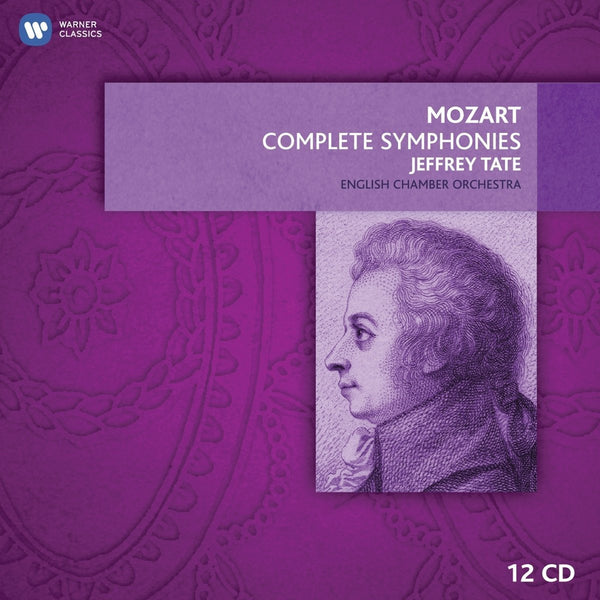 Mozart: The Complete Symphonies - Jeffrey Tate, English Chamber Orchestra (13 CDs)