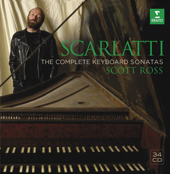Scarlatti: The Complete Sonatas - Scott Ross (34 CDs)