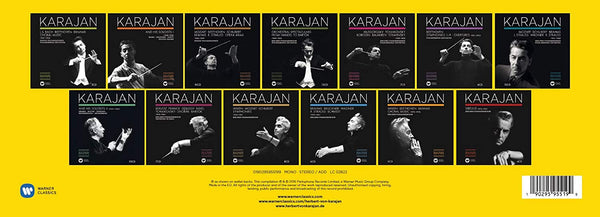 Herbert von Karajan: The Complete Remastered Edition (101 CDs)