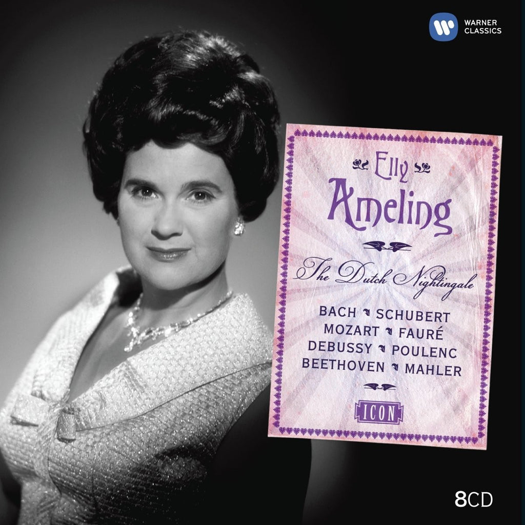 Elly Ameling: Icon - The Dutch Nightingale (8 CDs)