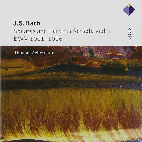 BACH, JOHANN SEBASTIAN: SONATAS & PARTITAS FOR VIOLIN (2 CDS) - THOMAS ZEHETMAIR