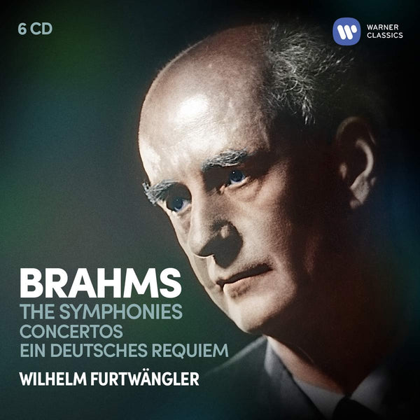 BRAHMS: THE SYMPHONIES, CONCERTOS, EINE DEUTSCHES REQUIEM - FURTWANGLER (6 CDS)
