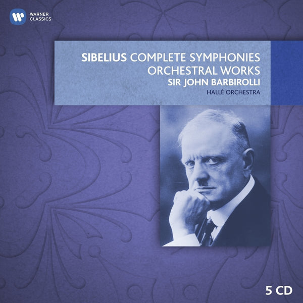Sibelius: Complete Symphonies & Tone Poems - John Barbirolli, Halle Orchestra (5 CDs)