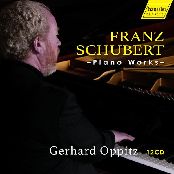 Schubert: Piano Works - Oppitz, Gerhard (12 CDS)