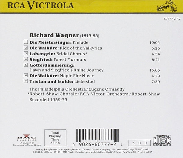 The Best of Wagner (Orchestral) - Eugene Ormandy, Philadelphia Orchestra