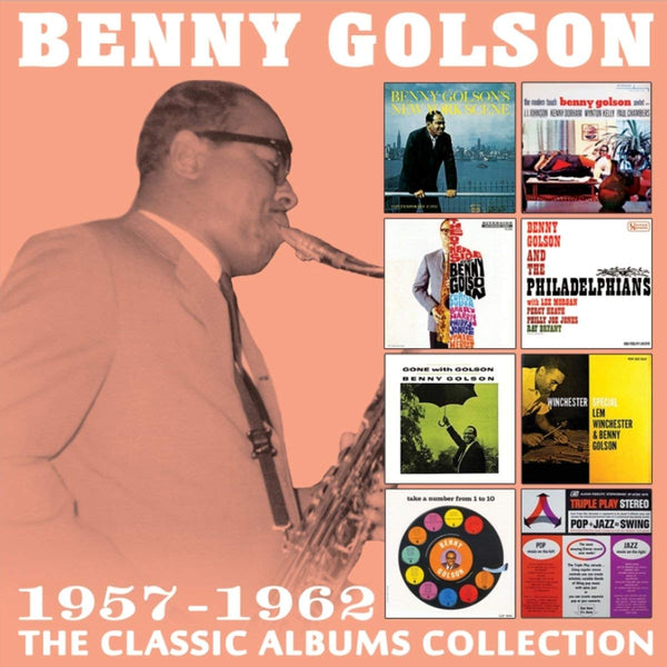 Benny Golson - Classic Albums Collection: 1957-1962 (4 CDS)
