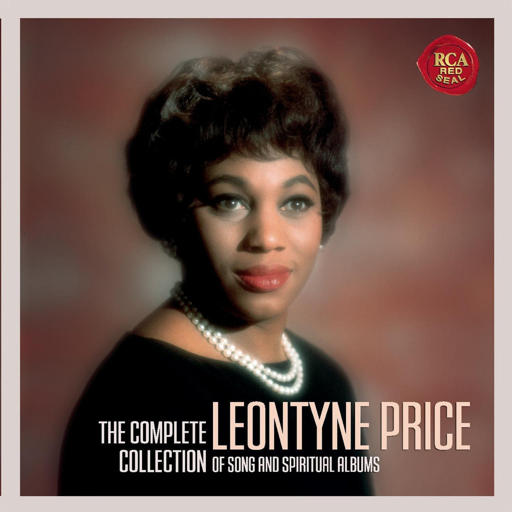 LEONTYNE PRICE - THE COMPLETE COLLECTION of SONGS AND SPIRITUAL ALBUMS (12 CDs)