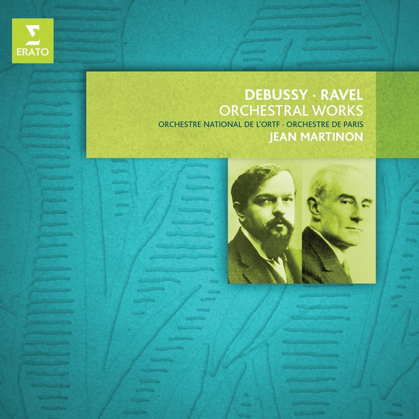 Debussy & Ravel: Orchestral Works - Jean Martinon (8 CDs)