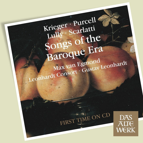 SONGS OF THE BAROQUE ERA - MAX VAN EGMOND