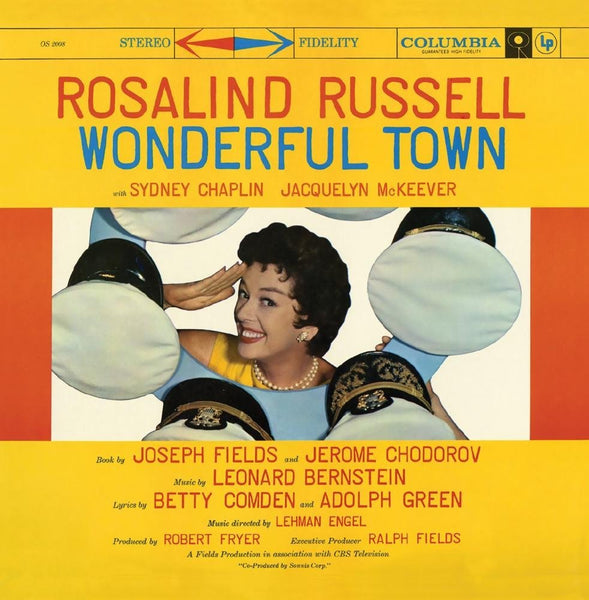 BERNSTEIN: WONDERFUL TOWN (TELEVISION CAST - 1958)