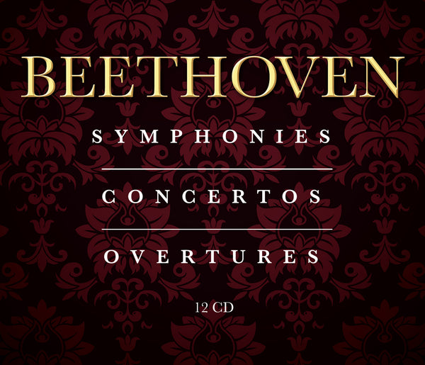 Beethoven: The Complete Symphonies, Concertos & Overtures (12 CDS)