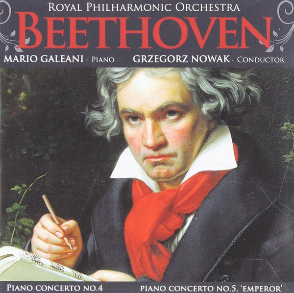 BEETHOVEN: PIANO CONCERTOS NO. 4 & 5 - GALEANI; NOWAK; ROYAL PHILHARMONIC ORCHESTRA
