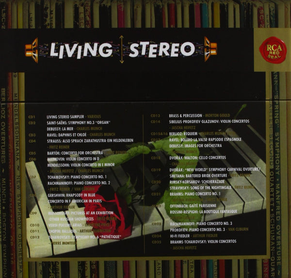 THE LIVING STEREO COLLECTION - VOLUME 1  (60 CDs)