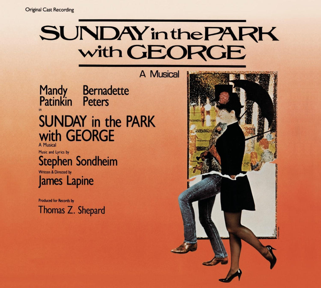 SUNDAY IN THE PARK WITH GEORGE - ORIGINAL BROADWAY CAST